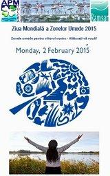 Ziua Zonelor Umede - 2015